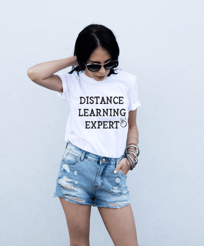 Distance Learning Expert Shirt