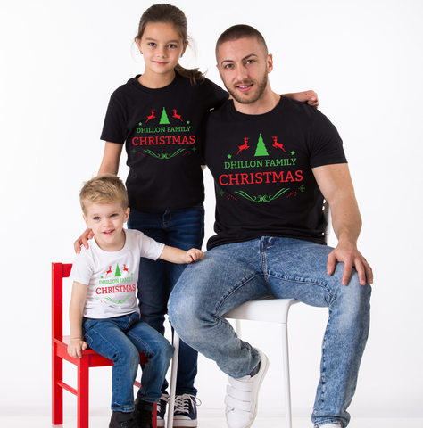 Matching Christmas Shirts For Family.Custom Name Matching Christmas Shirt Matching Family Christmas Shirts Matching Christmas Outfits Matching Christmas Pajamas