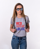 Red Wine & Blue, 4th of July Shirt