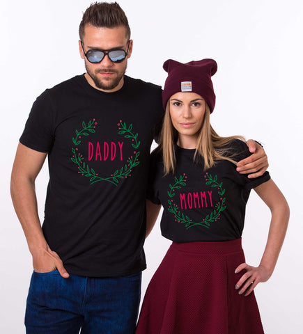 f0dbdc90 Mommy daddy baby Christmas matching shirts for the whole family, Custo –  Epic Tees 4 You