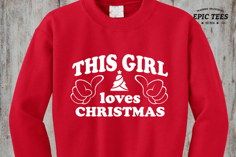 This Girl loves Christmas sweater