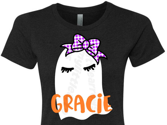 Girl ghost SVG