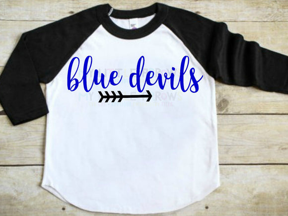 Blue Devils SVG