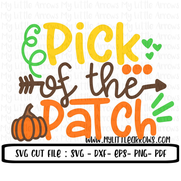 Pick of the patch SVG