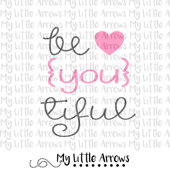 Be You tiful SVG