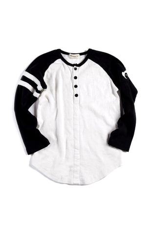Appaman Baseball henley (White)