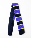 Striped Knit Tie
