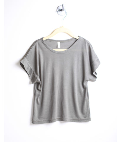 Loose Fit Butter Tee (Olive)