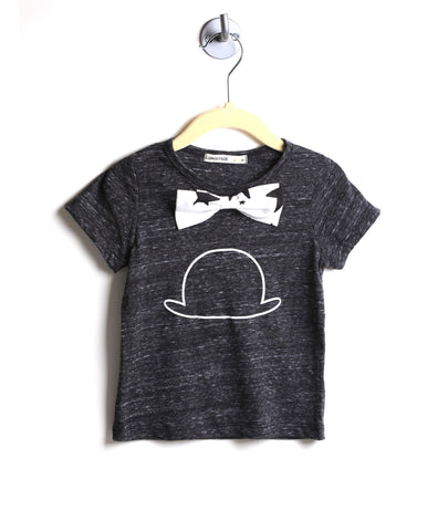 Top Hat Bow Tie Tee
