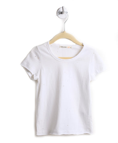 Hole-y Tee (White)
