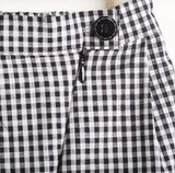 Black and White Checkered Pants
