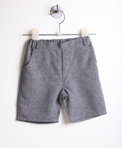 Heather Gray Dress Shorts