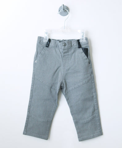 Denim Skinney Moto Pants