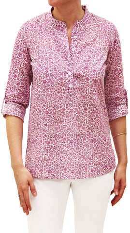 CAMP SHIRT LODHI WISTERIA - Rikshaw Design - 2
