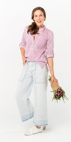 CECILE CAMP SHIRT LODHI WISTERIA - FINAL SALE