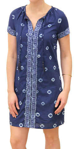 SHIBORI EMBROIDERED DRESS - Rikshaw Design - 2