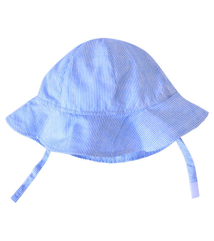 SUNHAT STRIPE PERIWINKLE