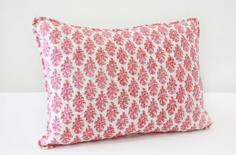 BOUDOIR SHAM MATILLE PINK/ORANGE - FINAL SALE
