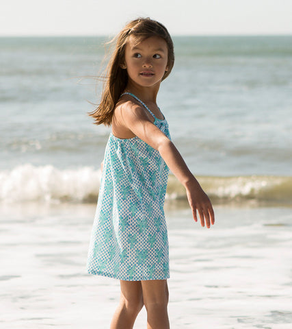 CRISS-CROSS SUNDRESS LOBSTER MINERAL - Rikshaw Design - 4