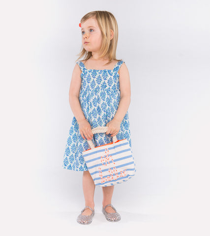 ISABELLE SUNDRESS MATILLE PERIWINKLE