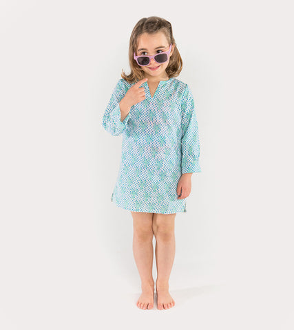 LONG SLEEVE COVER-UP KURTA LOBSTER MINERAL