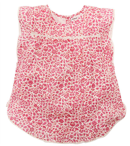 ELOISE TOP LODHI FLAMINGO - FINAL SALE - Rikshaw Design - 2
