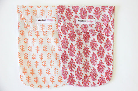 DIAPER POUCHES MATILLE PINK- FINAL SALE
