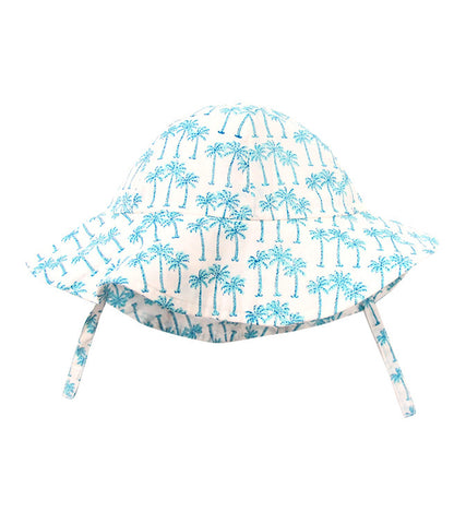 SUNHAT PALM TREE TURQUOISE - Rikshaw Design - 1