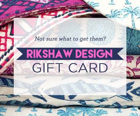 Rikshaw Design Gift Card - Rikshaw Design