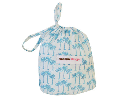 BOXERS PALM TREE TURQUOISE - Rikshaw Design - 2