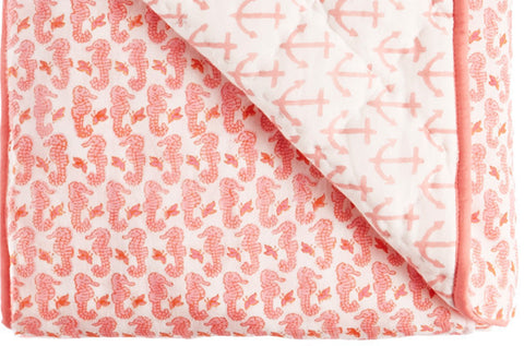 PLAY BLANKET NAUTICAL LT PINK - Rikshaw Design - 2