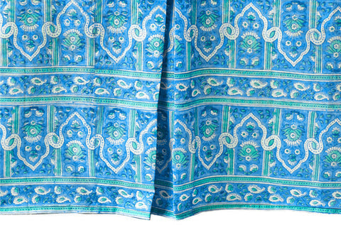 CRIB SKIRT PALACE TURQUOISE - Rikshaw Design - 2