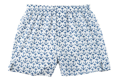 BOXERS ANCHOR NAVY - Rikshaw Design - 1