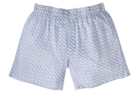 BOXERS WAVES BLUE - Rikshaw Design - 1