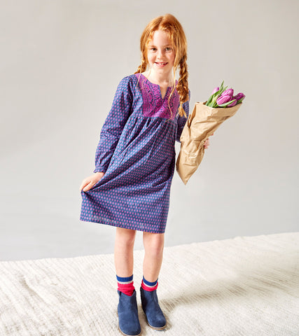 PHOEBE DRESS PURPLE - Rikshaw Design - 1