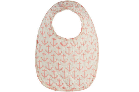 BAG OF BIBS NAUTICAL LT PINK - Rikshaw Design - 2