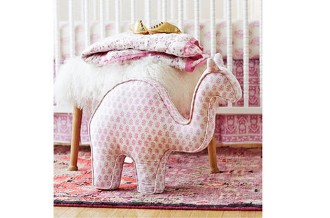 CAMEL PILLOW VIOLET - Rikshaw Design - 2