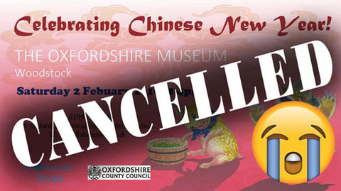 Oxfordshire Museum Event Postponed