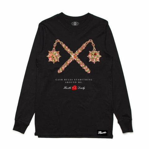 Morning Cross Cash Long Sleeve