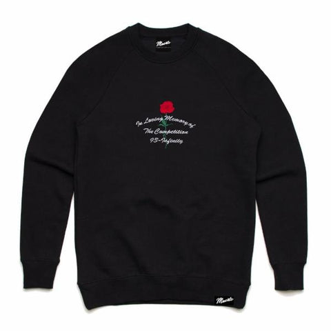 In Loving Memory Embroidered - Crewneck