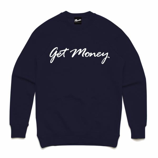 Get Money Script Crewneck