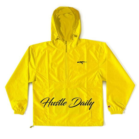 Hustle Daily AK Yellow Anorak