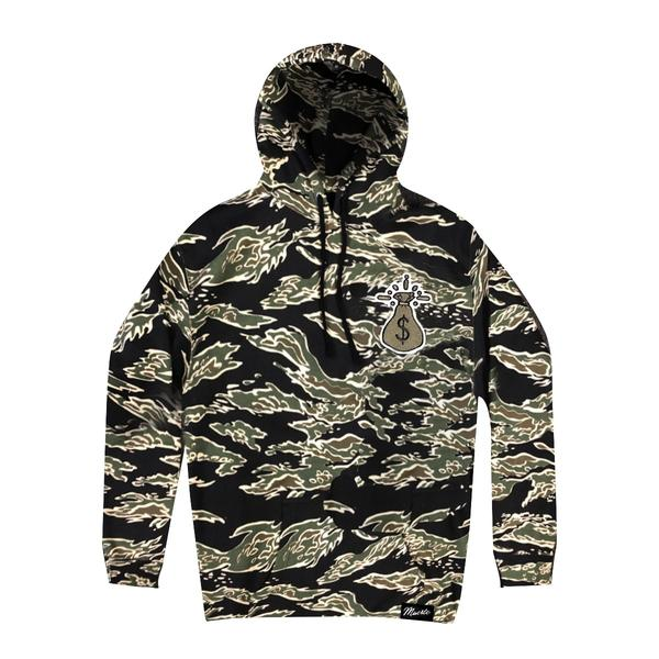 Eye of the Tiger Camo Hoodie