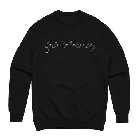 Get Money Rhinestone Crewneck