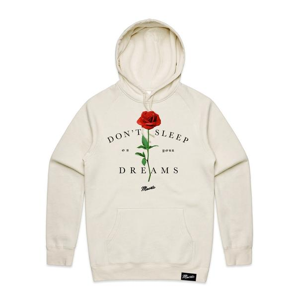 Don't Sleep On Your Dreams Rose Hoodie