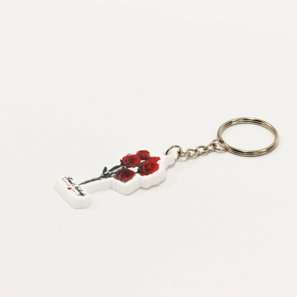 Keychain - Barbed Roses