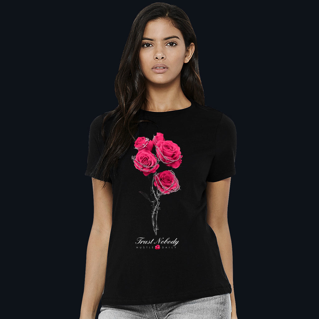 CRIMSON J1 Barbed Roses  - Women