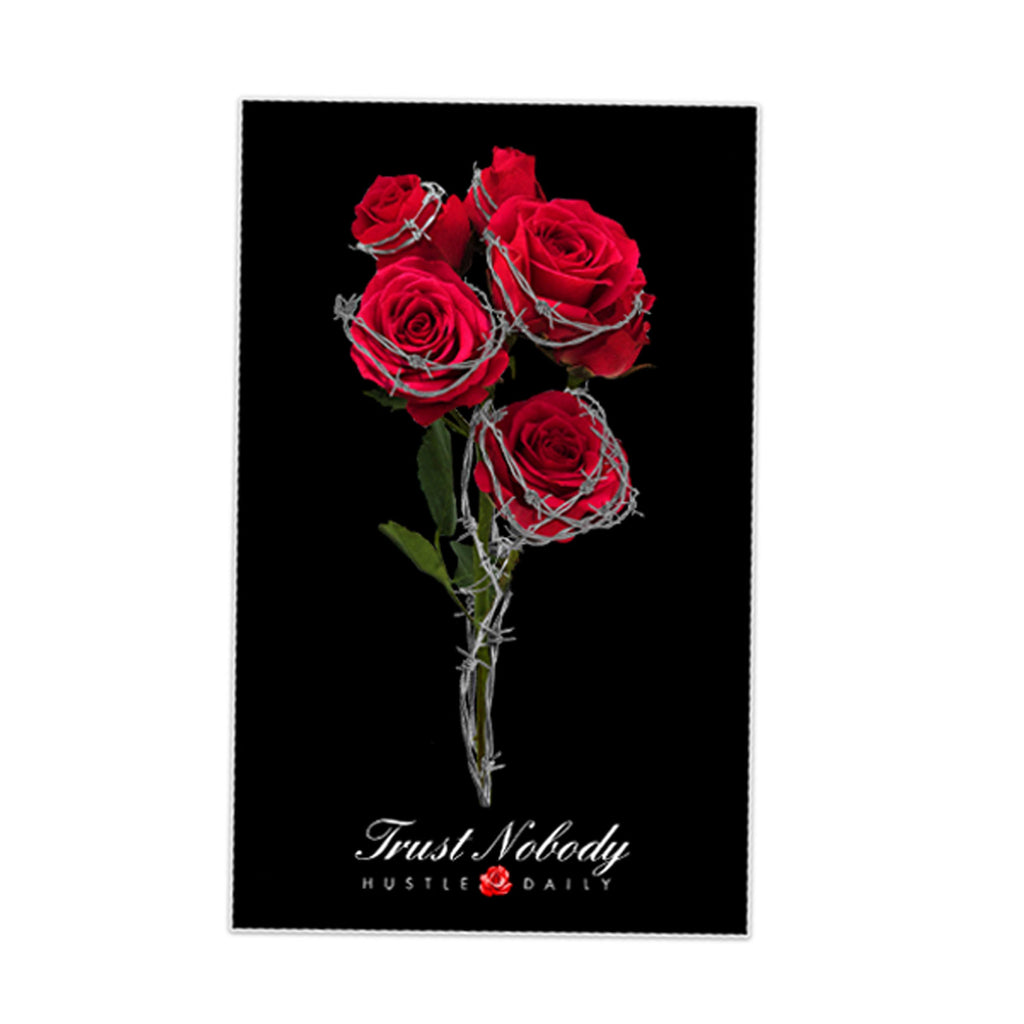 Barbed Roses Sticker