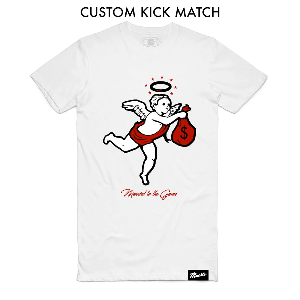 Angel Logo - Custom Shoe Match (White)