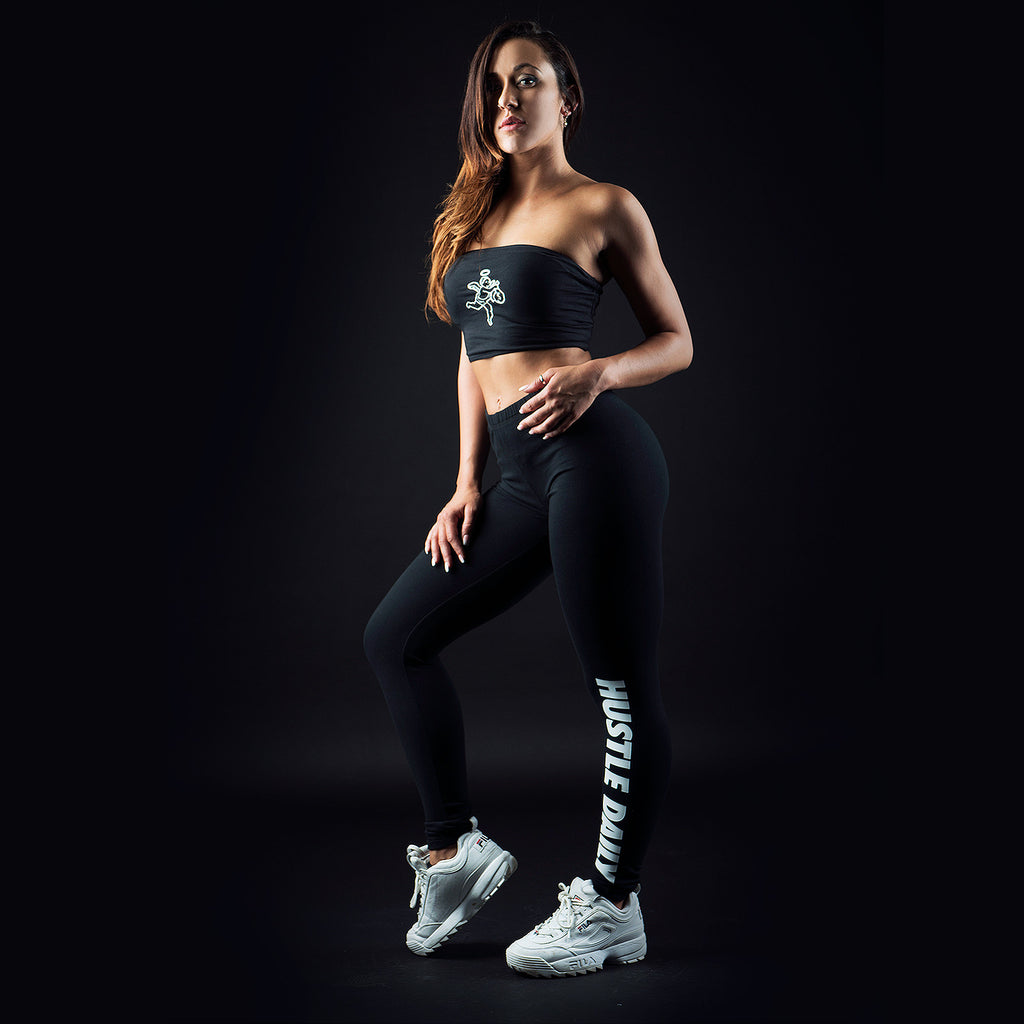 Hustle Daily Terry Premium Leggings